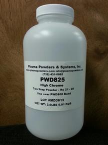Flame sprayed powder alloy equivalent to Cronatron Cryospray 825